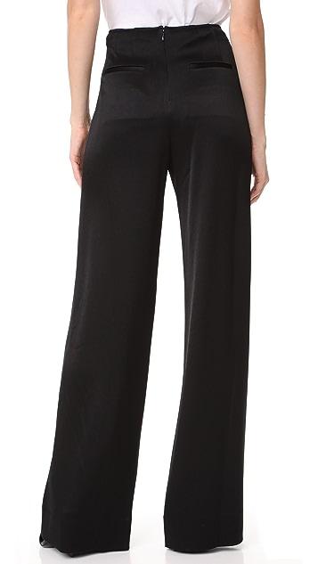Derek Lam 10 Crosby Sailor Pants with Barbell Detail