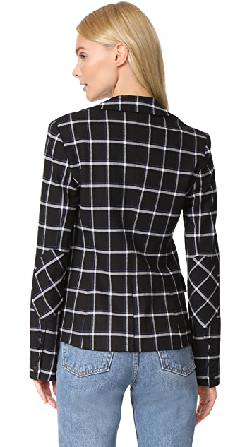 Derek Lam 10 Crosby Elbow Patches Blazer