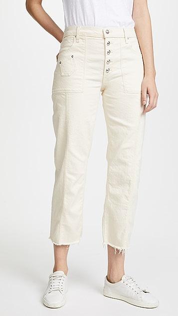 Derek Lam 10 Crosby Blake Slim Culotte Jeans