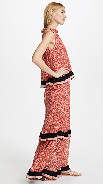 Derek Lam 10 Crosby Tiered Maxi Dress