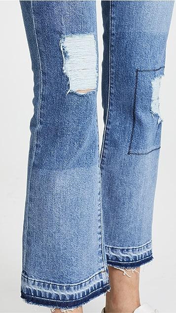 Derek Lam 10 Crosby Gia Flare Jeans