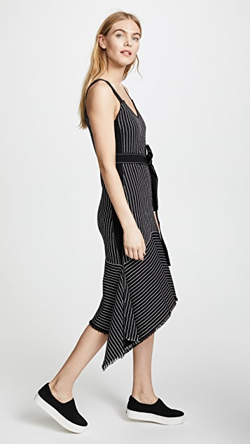 Derek Lam 10 Crosby Cami Dress with Tie Belt