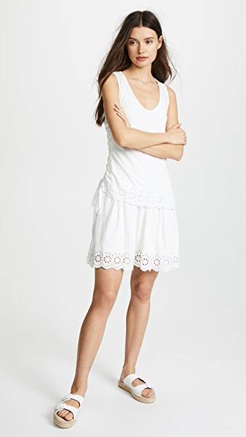49b1763b888d34 Derek Lam 10 Crosby Scalloped Hem Dress