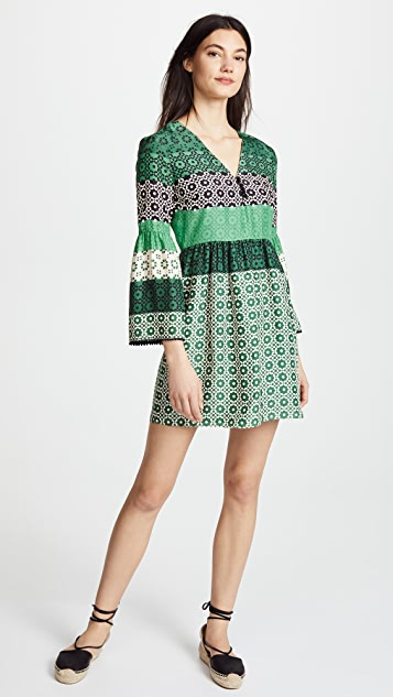 Derek Lam 10 Crosby V Neck Shift Dress