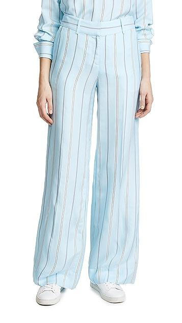 Derek Lam 10 Crosby Striped Pants