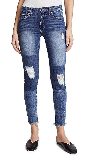 Derek Lam 10 Crosby Devi Mid Rise Skinny Jeans