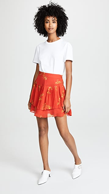 Derek Lam 10 Crosby Pleated Mini Skirt