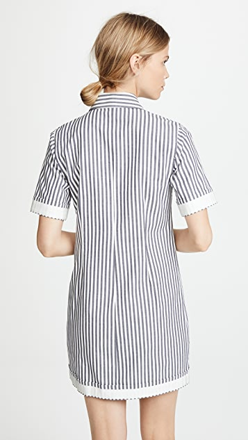 Derek Lam 10 Crosby Utility Shirt Dress