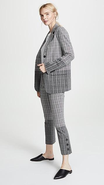 Derek Lam 10 Crosby Oversized Blazer
