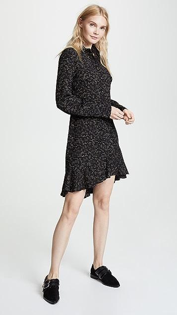 Derek Lam 10 Crosby Shirtdress With Asymmetrical Hem