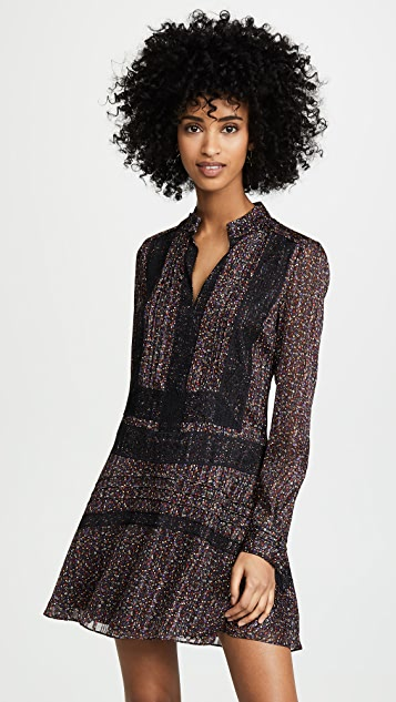 Derek Lam 10 Crosby Shift Dress with Lace Detail