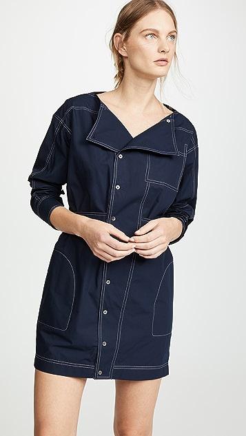 Derek Lam 10 Crosby Shirtdress