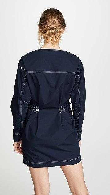 Derek Lam 10 Crosby Платье-рубашка
