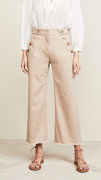 Slim Culotte Pants by Derek Lam 10 Crosby