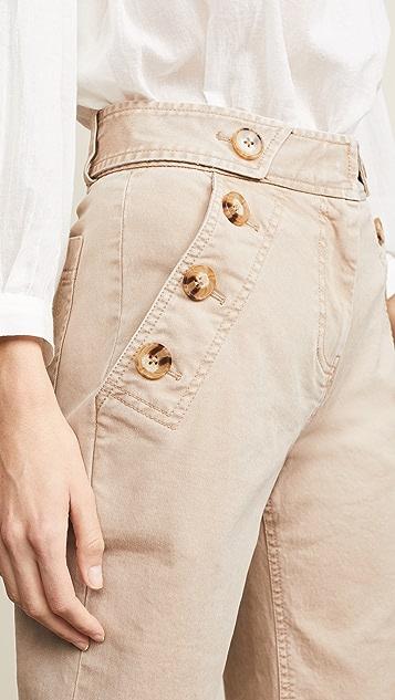 Derek Lam 10 Crosby Узкие брюки Culotte