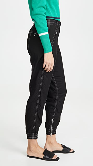 Derek Lam 10 Crosby Utility Jogger Pants