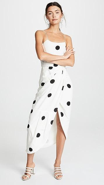 Derek Lam 10 Crosby Платье на бретельках