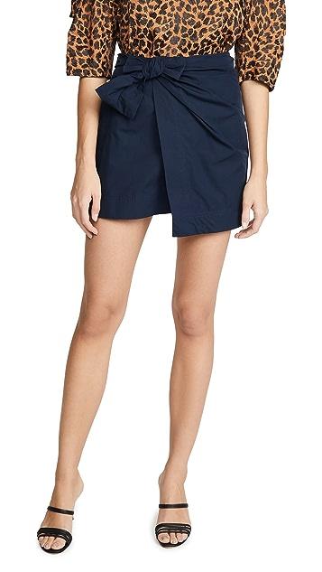 Derek Lam 10 Crosby Wrap Miniskirt