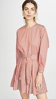 Derek Lam 10 Crosby Long Sleeve Godet Skirt Dress