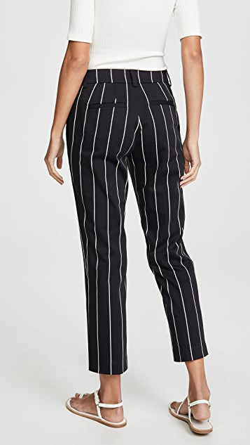Derek Lam 10 Crosby Cropped Straight Leg Trousers