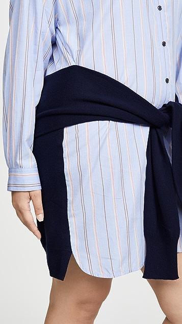 Derek Lam 10 Crosby Button Down Shirtdress