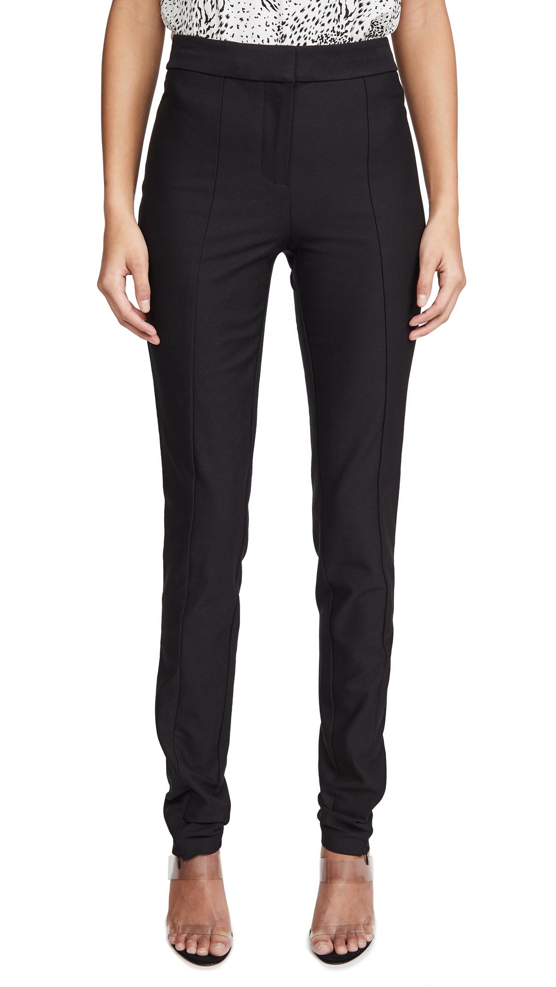 Derek Lam 10 Crosby Ora Slim Trousers with Front Slit