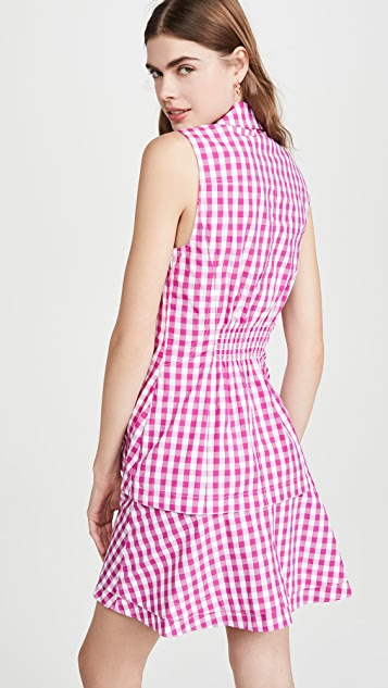 Derek Lam 10 Crosby Satina Sleeveless Shirt Dress