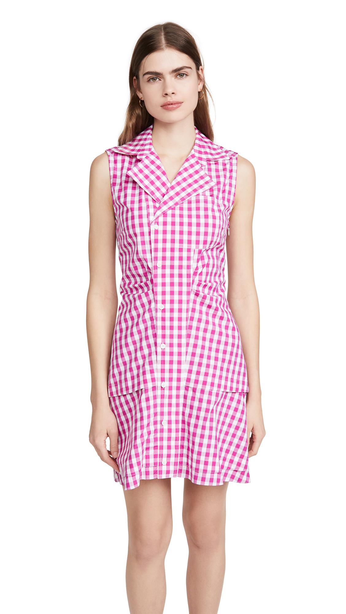 Derek Lam 10 Crosby Satina Sleeveless Shirt Dress