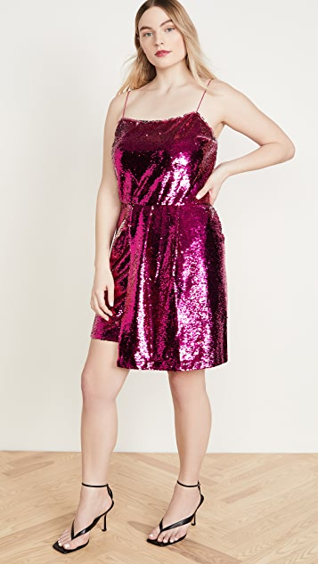 Derek Lam 10 Crosby Lani Reversible Sequin Cami Dress