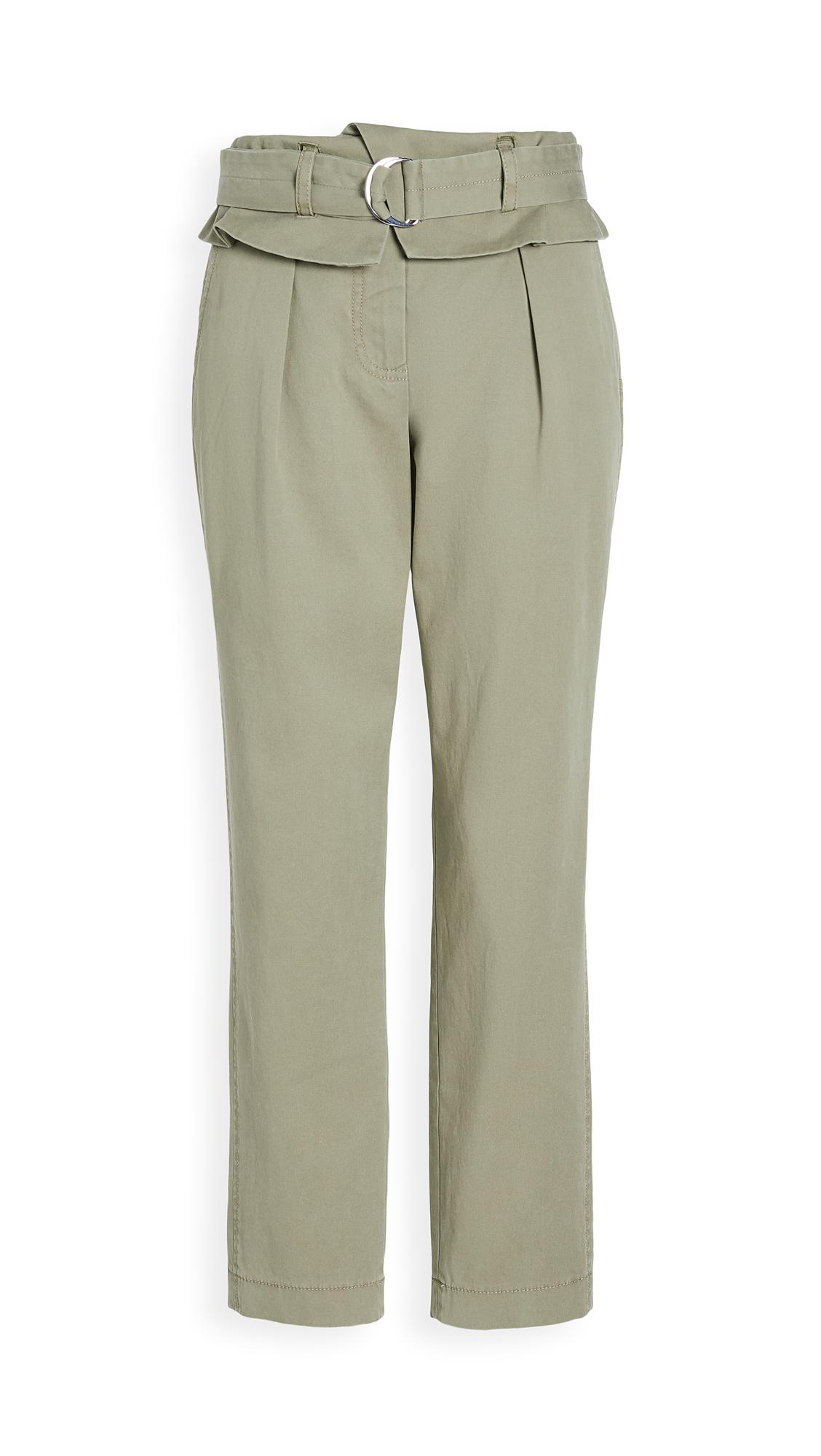 Derek Lam 10 Crosby Malia High Waisted Paper Bag Trousers