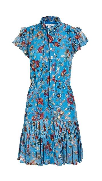 Derek Lam 10 Crosby Edith Ruffle Hem Dress