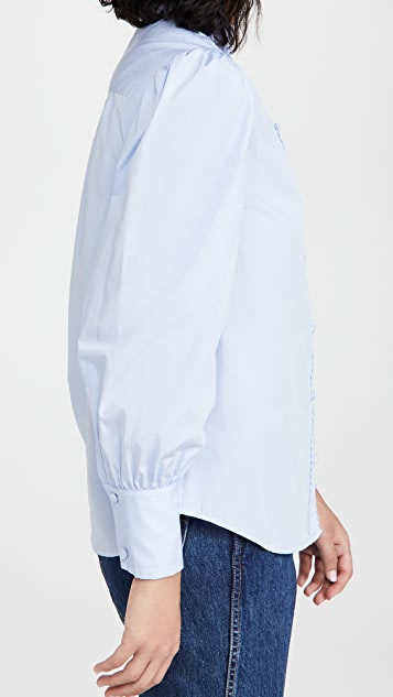 Derek Lam 10 Crosby Zoe Button Down