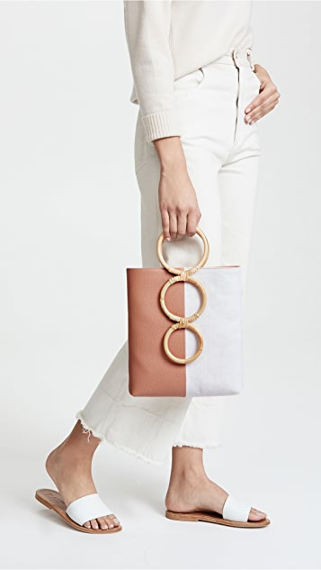 Carolina Santo Domingo Petra Ringed Mini Tote Bag