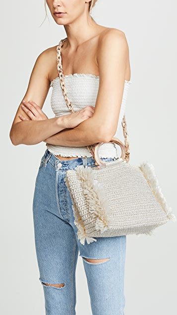 Carolina Santo Domingo Corallina Large Shoulder Bag