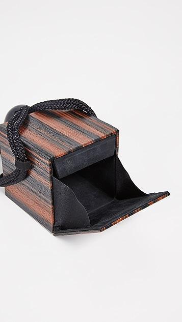 Carolina Santo Domingo Объемная сумка Eva с кисточками