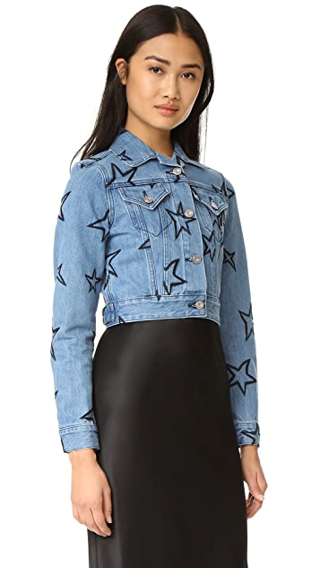 Etre Cecile Cropped Denim Jacket