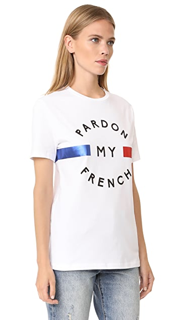 Etre Cecile Pardon My French T-Shirt