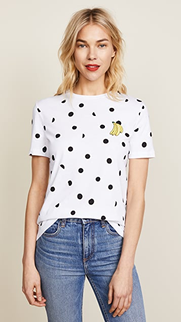 Etre Cecile Banana Dot T-Shirt ...