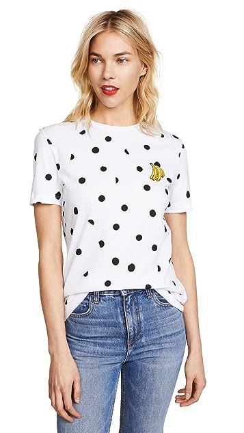 Etre Cecile Banana Dot T-Shirt