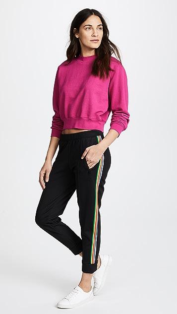 Etre Cecile Rib Crop Track Pants