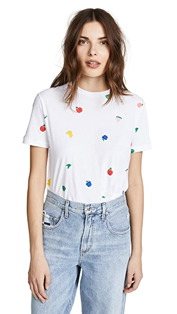 Etre Cecile Fruits All Over T-Shirt