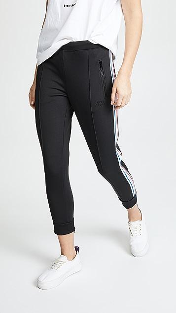 Etre Cecile Rib Cropped Retro Track Pants