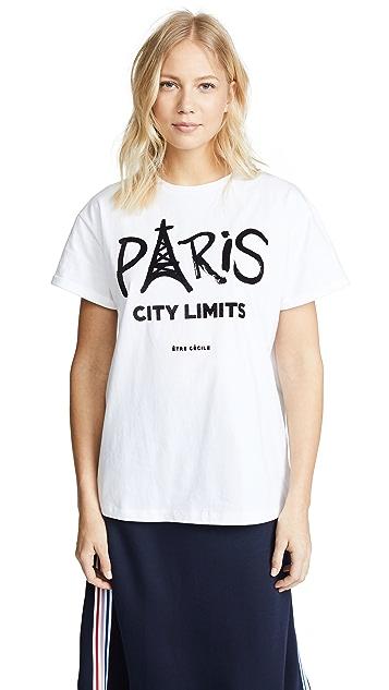 Etre Cecile Paris City Limits Tee