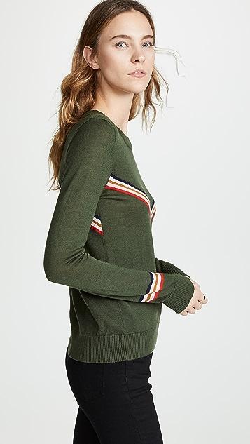 Etre Cecile Chevron Sweater