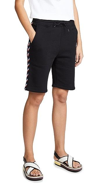 Etre Cecile Rib Track Shorts