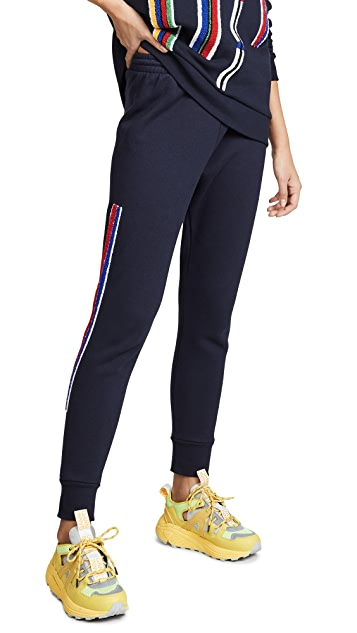 Etre Cecile Chenille Stripe Track Pants