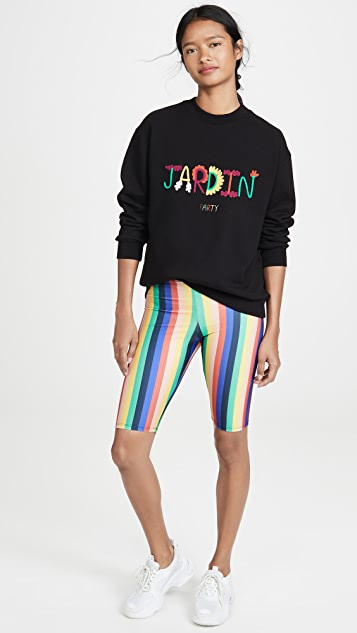 Etre Cecile Rainbow Fifi Bike Shorts