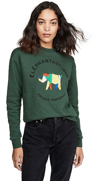 Etre Cecile Elephantastique 男友风格运动衫