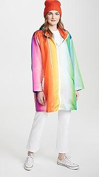 Rainbow Rain Coat
