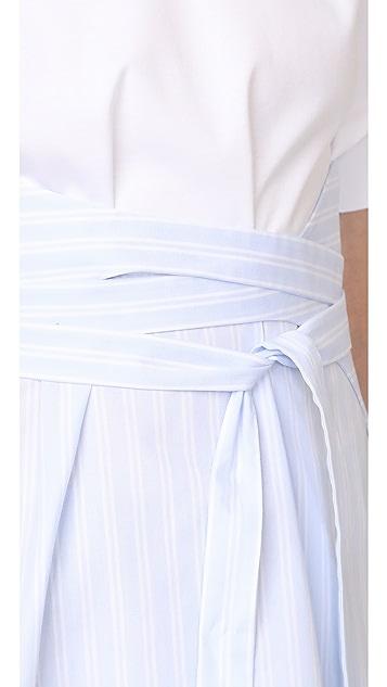 Cedric Charlier Short Sleeve Blouse